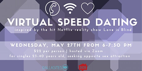 Virtual Speed Dating, by Dallasites101 + Dallas Comedy House tickets