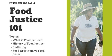 FFF Online Learning: Food Justice 101 tickets
