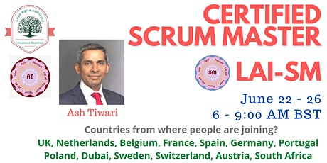 Online Certified Scrum Master (LAI-SM) tickets