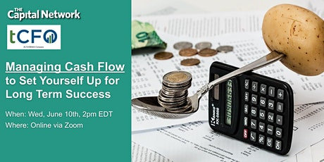 WEBINAR   Managing Cash Flow to Set Yourself Up for Long Term Success tickets