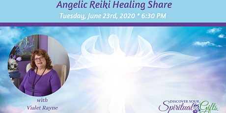 [ONLINE] Angelic Reiki Share tickets