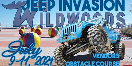 2021 NEW JERSEY JEEP INVASION - WILDWOOD tickets