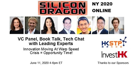 Silicon Dragon Online NY Forum 2020 bilhetes