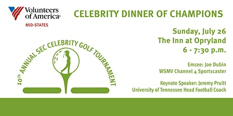 VOA Golf Dinner of Champions tickets