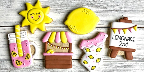 """Let's Make Lemonade"" Cookie Decorating Class tickets"
