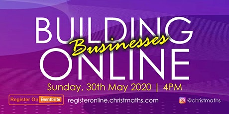 BUILDING BUSINESSES ONLINE tickets