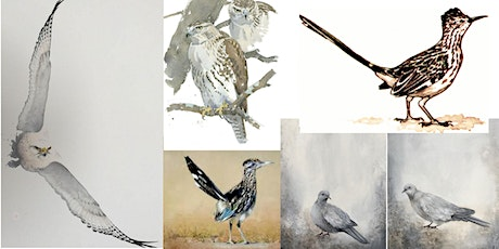 Birds of West Texas Watercolor Painting Class- Online tickets