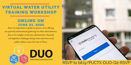 PUC of Texas Virtual Water Utility Training Workshop tickets