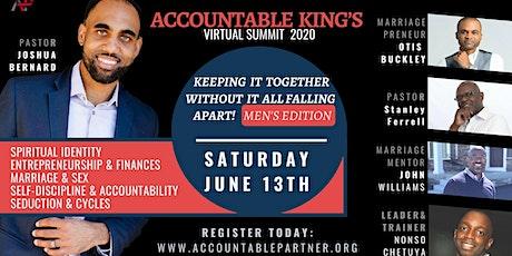 Accountable Kings Men's Summit 2020 tickets