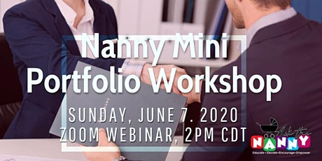 Nanny Mini Portfolio Workshop tickets