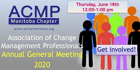 ACMP Manitoba Chapter: Annual General Meeting tickets