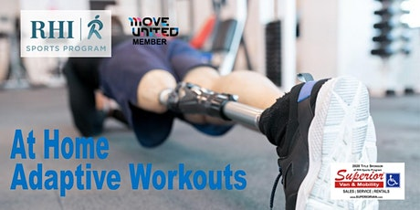 At home Adaptive Workouts tickets
