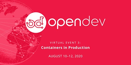 OpenDev: Containers in Production tickets