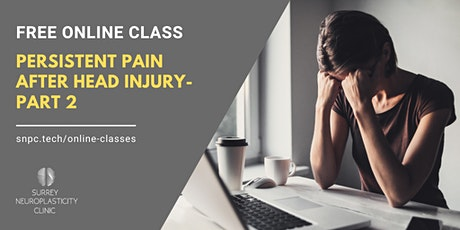 Pain Management After Head Injury: Part 2 tickets