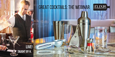 Great Cocktails, Part 1: The Webinar tickets