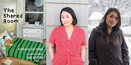 THE SHARED ROOM virtual launch event with Kao Kalia Yang and Xee Reiter tickets