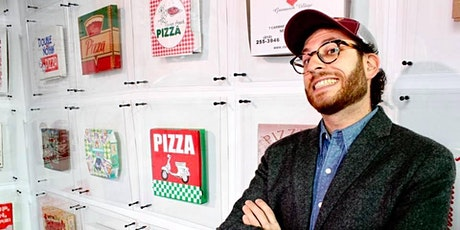 Atlas Obscura: Meet the Owner of the World's Largest Pizza Box Collection tickets