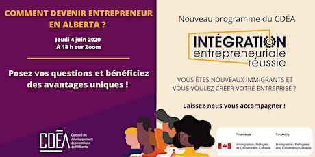 Comment devenir entrepreneur en Alberta ? billets