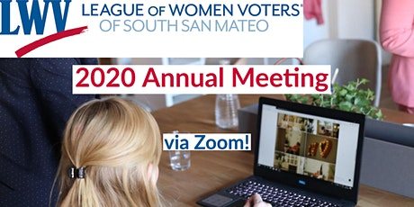 League of Women Voters South San Mateo County - 2020 Annual Meeting tickets