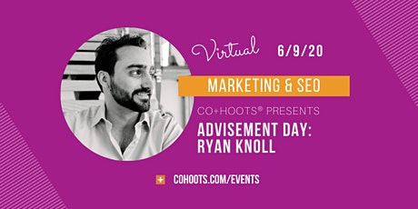 Advisement Sessions: Marketing Strategy & SEO tickets