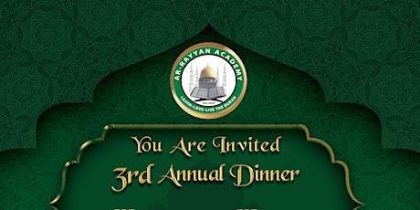 ArRayyan Quran Academy Annual Dinner 2021 tickets