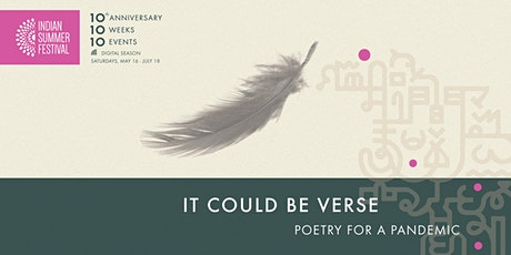 ISF2020: It Could Be Verse: Poetry for a Pandemic tickets