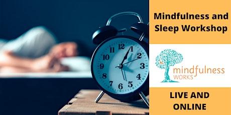Mindfulness and Sleep. 1.5 Hour Workshop With Jon Unal tickets
