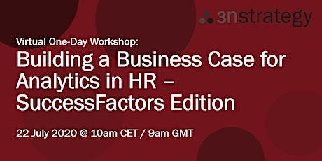 Building a Business Case for Analytics - SuccessFactors Edition (EMEA) tickets