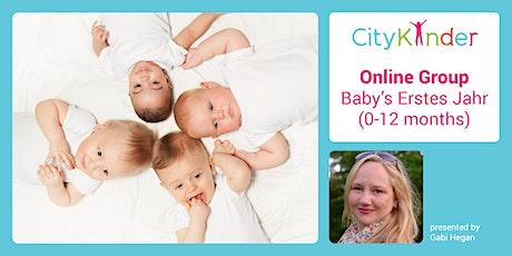 Baby's Erstes Jahr | Mommy & Me Gruppe - ONLINE Tickets