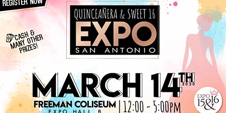 Expo 15 & 16 - Quinceanera & Sweet 16 Spring 2021 tickets