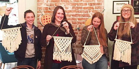 Virtual Macrame Wall Hanging Class tickets