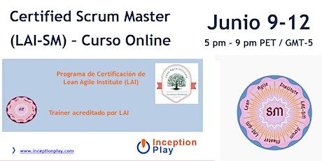 Online Certified Scrum Master (LAI-SM) entradas