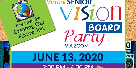 High School Graduates Vision Board Party Tickets
