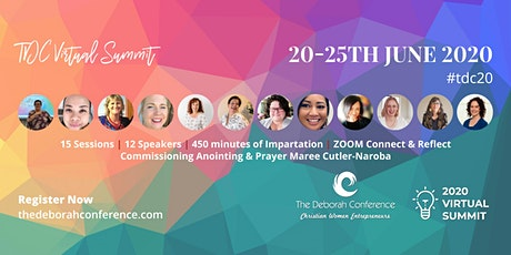 THE DEBORAH CONFERENCE: CHRISTIAN WOMEN ENTREPRENEURS   tickets