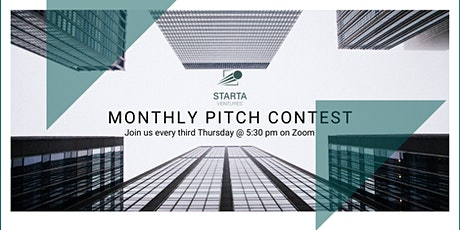 Pitch Contest with Starta Ventures via ZOOM tickets