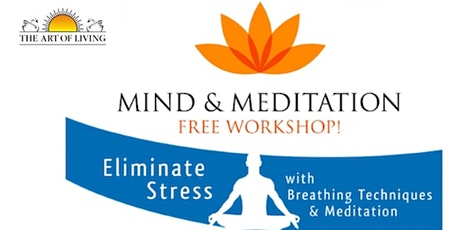 Free online meditation and introduction to breathing techniques tickets