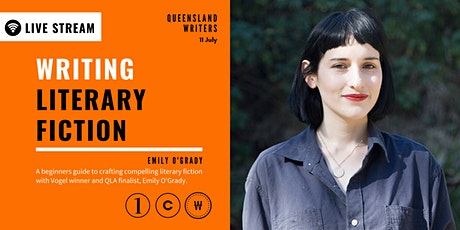 LIVE STREAM: Writing Literary Fiction with Emily O'Grady tickets