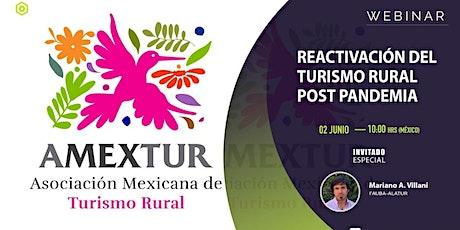La reactivación del Turismo Rural post pandemia bilhetes