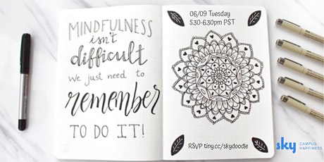 Mindful Doodling tickets