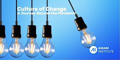 Culture of Change - Webinar tickets