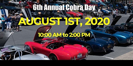 Cobra Day - Free Car Show - August 1, 2020 tickets