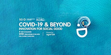 IMDA COVID-19 & Beyond - Innovation for Social Good tickets