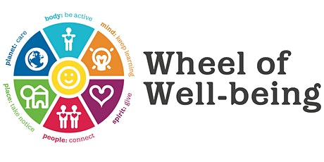 Wheel of Wellbeing - Exploring Wellbeing Together tickets