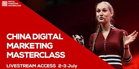 LIVESTREAM ACCESS for Ashley Dudarenok's China Digital Marketing Masterclas tickets