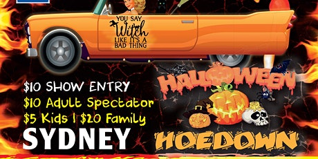 Hot Rod's For The Homeless Halloween Hoedown tickets
