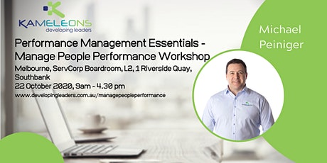 Performance Management Essentials - Manage People Performance - 22 October 2020 tickets