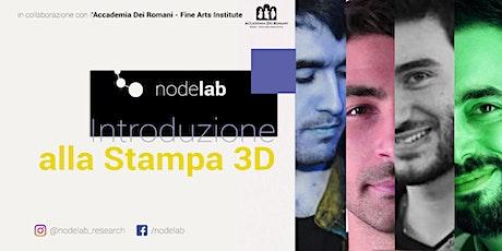 Nodelab - Introduzione alla Stampa 3D biglietti