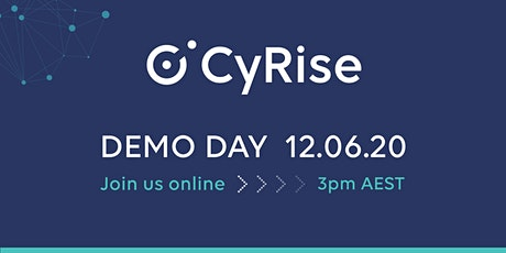 CyRise Virtual Demo Day, June 2020 tickets
