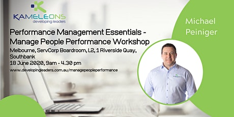 Performance Management Essentials - Manage People Performance - 18 June 2020 tickets