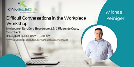 Difficult Conversations in the Workplace - 14 August 2020 tickets